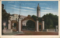 Sather Gate, University of California - Berkeley