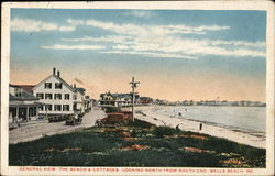 General View, The Beach & Cottages, Looking North From South End