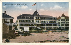 Shore View of Fairmount Hotel