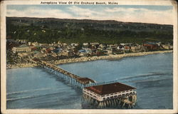 Aeroplane View of Old Orchard Beach