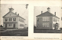 The O'd and the New School Houses