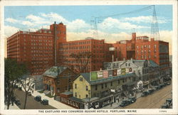 The Eastland and Congress Square Hotels