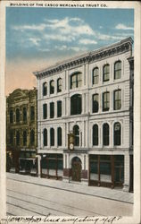Building of the Casco Mercantile Trust Co.