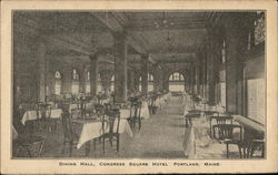 Dining Hall, Congress Square Hotel