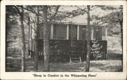 "Lakehurst Cabins - ""Sleep In Comfort In The Whispering Pines"""