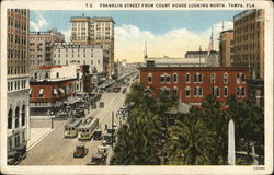 Franklin Street from Court House Looking North