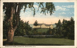 Intervale House, White Mts. Postcard