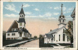 The Baptist Church and the Congregational Church