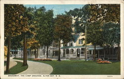 Broadway, The Camp Grounds Postcard