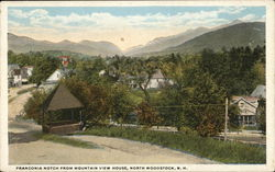 Franconia Notch From Mountain View House