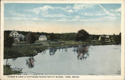 Chase's Lake & Cottages Along South Shore