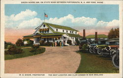 "Green Moors Inn, ""The Best Lobster and Clam Dinner In New England"""