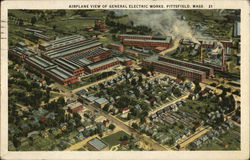 Airplane View of Electric Works