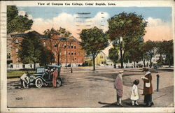 View of Campus Coe College