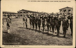 "Learning the ""Salute, U.S. National Army Cantonment, Camp Dodge"