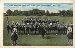 Parade Formation, Black Horse Troop, Culver Summer School
