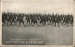 Camp Grant - Setting Up Exercise