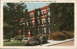 West Barrack, Culver Military Academy