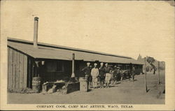 Company Cook, Camp Mac Arthur