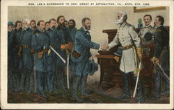 Gen. Lee's Surrender to Gen. Grant, April 9th, 1865