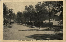 Calvary Street at Camp Hancock