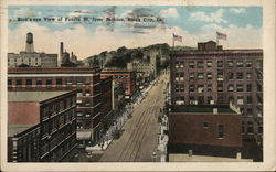 Bird's-eye View of Fourth St. From Jackson