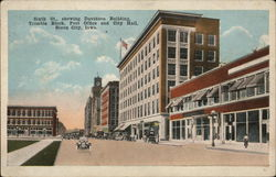 Sixth Street Showing Davidson Building, Trimble Block, Post Office & City Hall