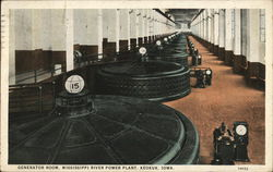 Generator Room, Mississippi River Power Plant