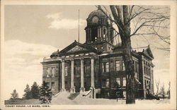 Court House in the Snow