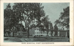 Base Hospital, Fort Leavenworth