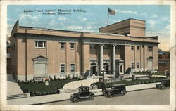 Soldiers' and Sailors' Memorial Building Postcard