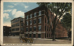 Lee Bros. Co., Shoe Factory