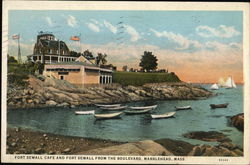 Fort Sewall Cafe and Fort Sewall