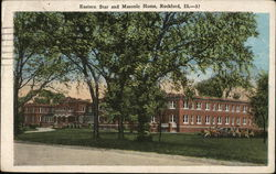 Eastern Star and Masonic Home Postcard