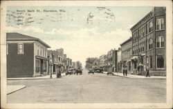South Main Street View Postcard