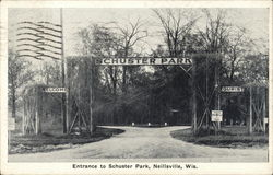 Entrance to Schuster Park