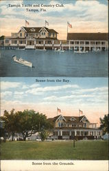 Tampa Yacht and Country Club Postcard