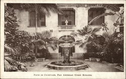 Patio or Courtyard, Pan American Union Building
