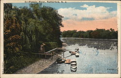 Scenic View of Passaic River