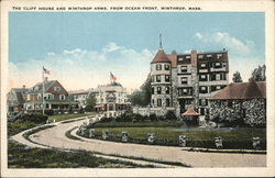 The Cliff House and Winthrop Arms, From Ocean Front
