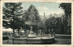 The Fountain, State Teachers College