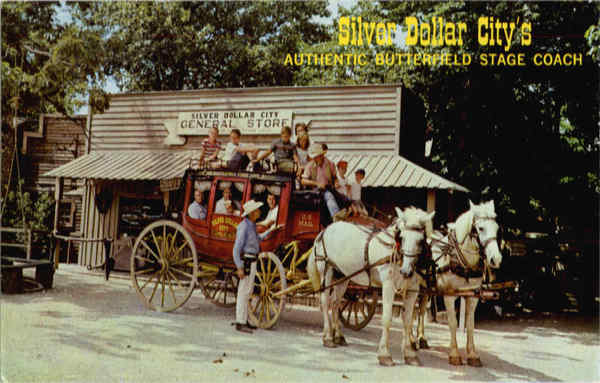 Silver Dollar City's Butterfield Stage Coach Missouri