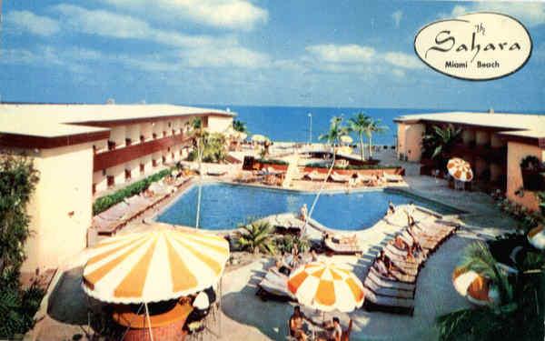The Sahara Hotel Collins Avenue