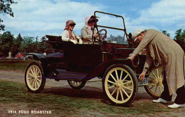 1914 Ford Roadster Cars