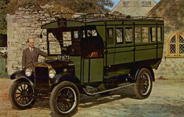1921 Ford Model -TT Bus Cars