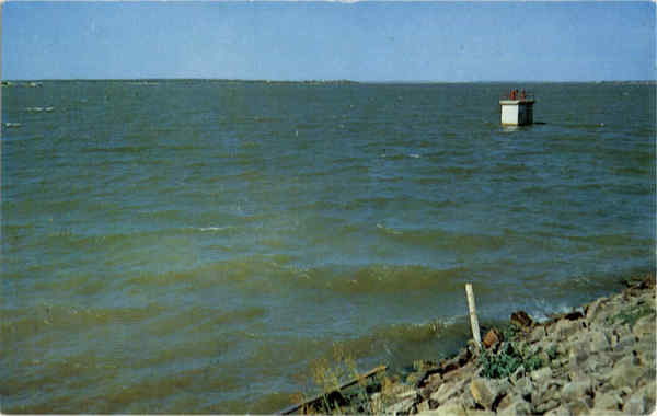 Abilene, Texas' main water supply, Ft. Phantom Lake
