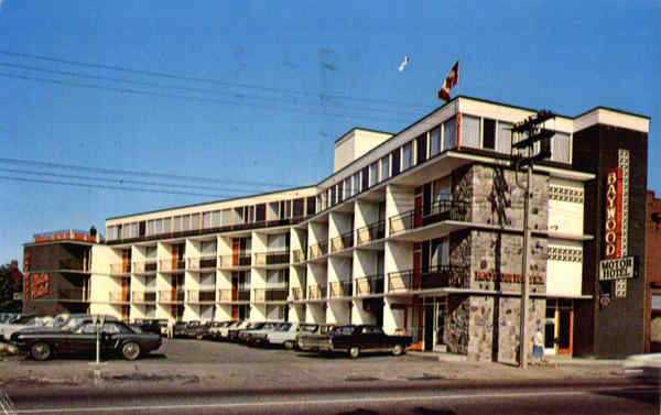 Baywood Motor Hotel, Algonquin Ave North Bay Ontario