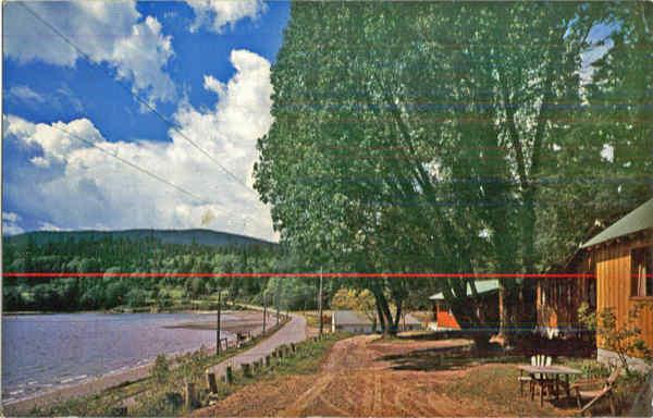 Silver Sands Resort Old Postcard