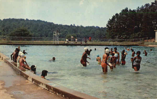 Booker T. Washington State Park Swimming Pool Chattanooga Tennessee