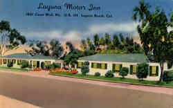 Laguna Motor Inn, 1601 Coast Blvd. No. (U. S. 101)